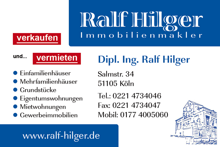 Immobilienmakler - Ralf Hilger Köln-Poll